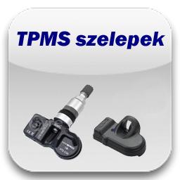 TPMS jeladós szelepek